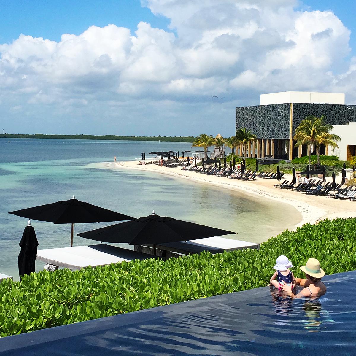 The Riviera Maya, Mexico Viceroy hotel.