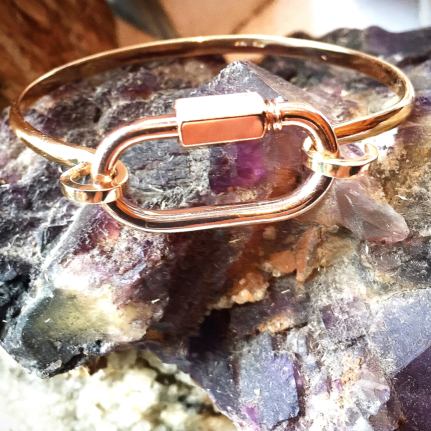 The latest and greatest: 'Hard Lock' in rose gold