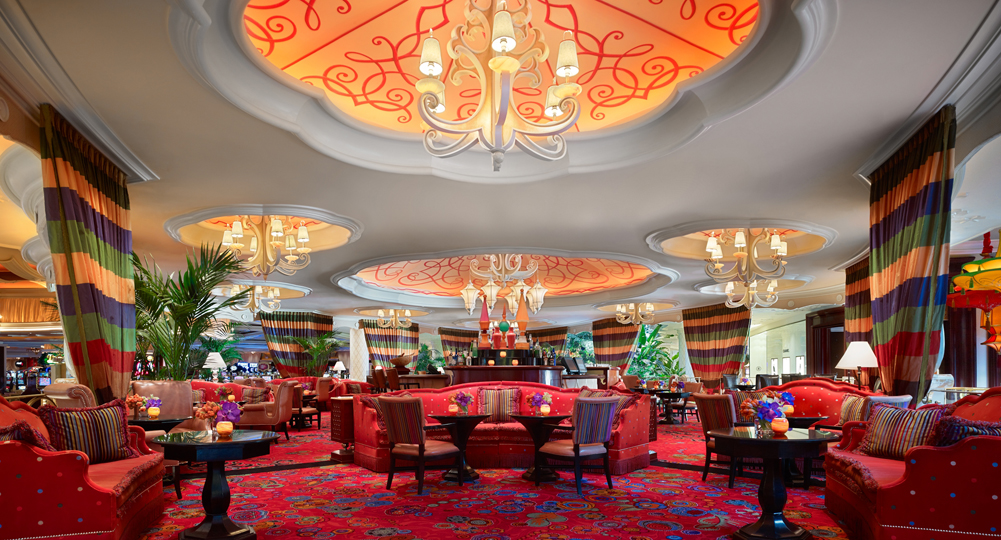 Parasol Up at the Wynn Las Vegas – the perfect spot for Nadine to enjoy a gin martini.