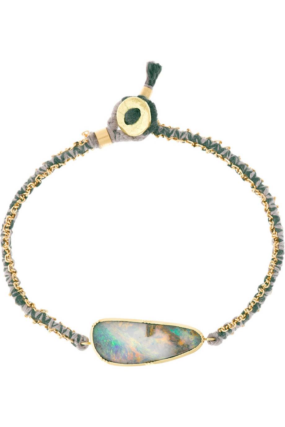 Brooke Gregson  18-karat gold boulder opal bracelet, $2,750,  available at Net-A-Porter.