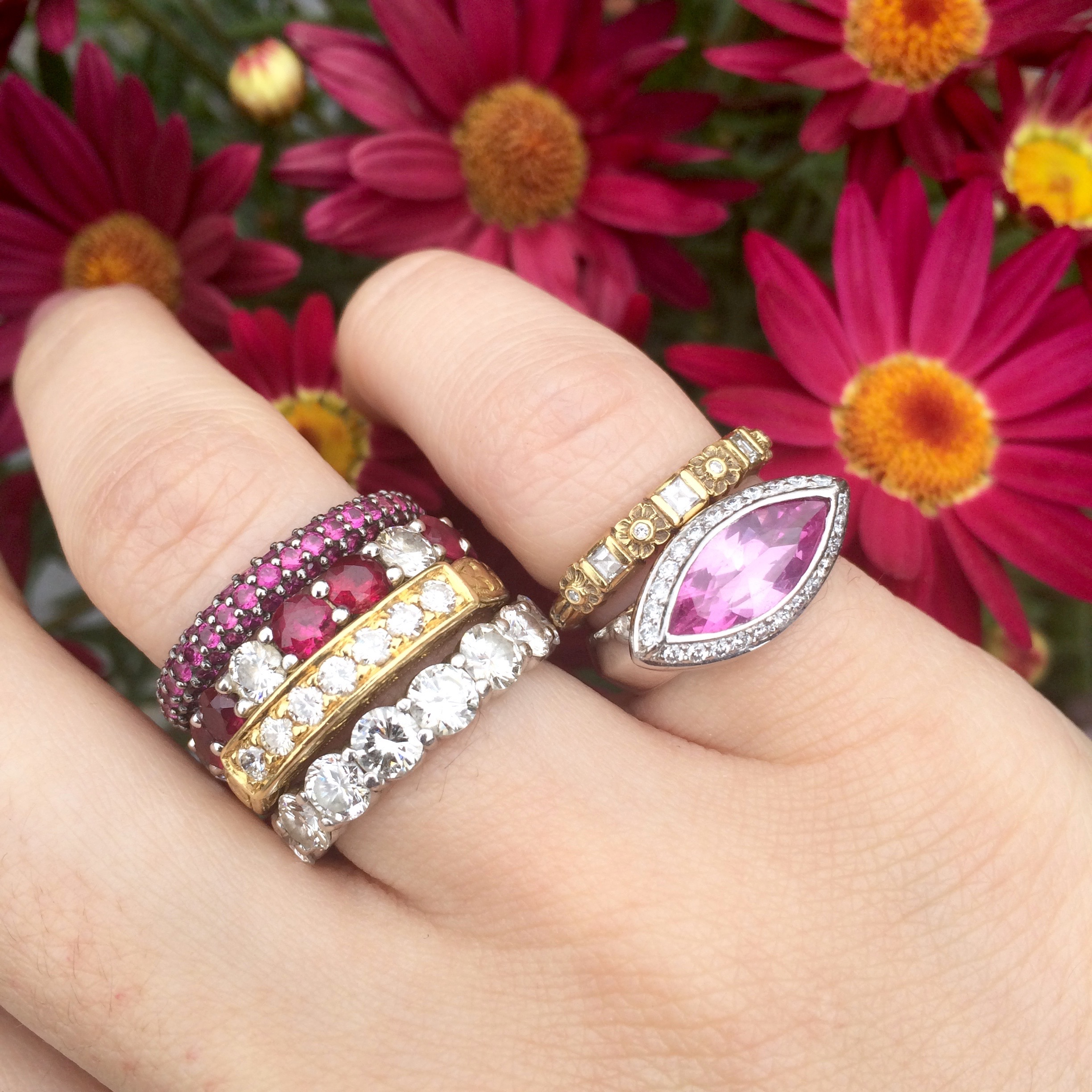 We can always get down with a JT ring stack.