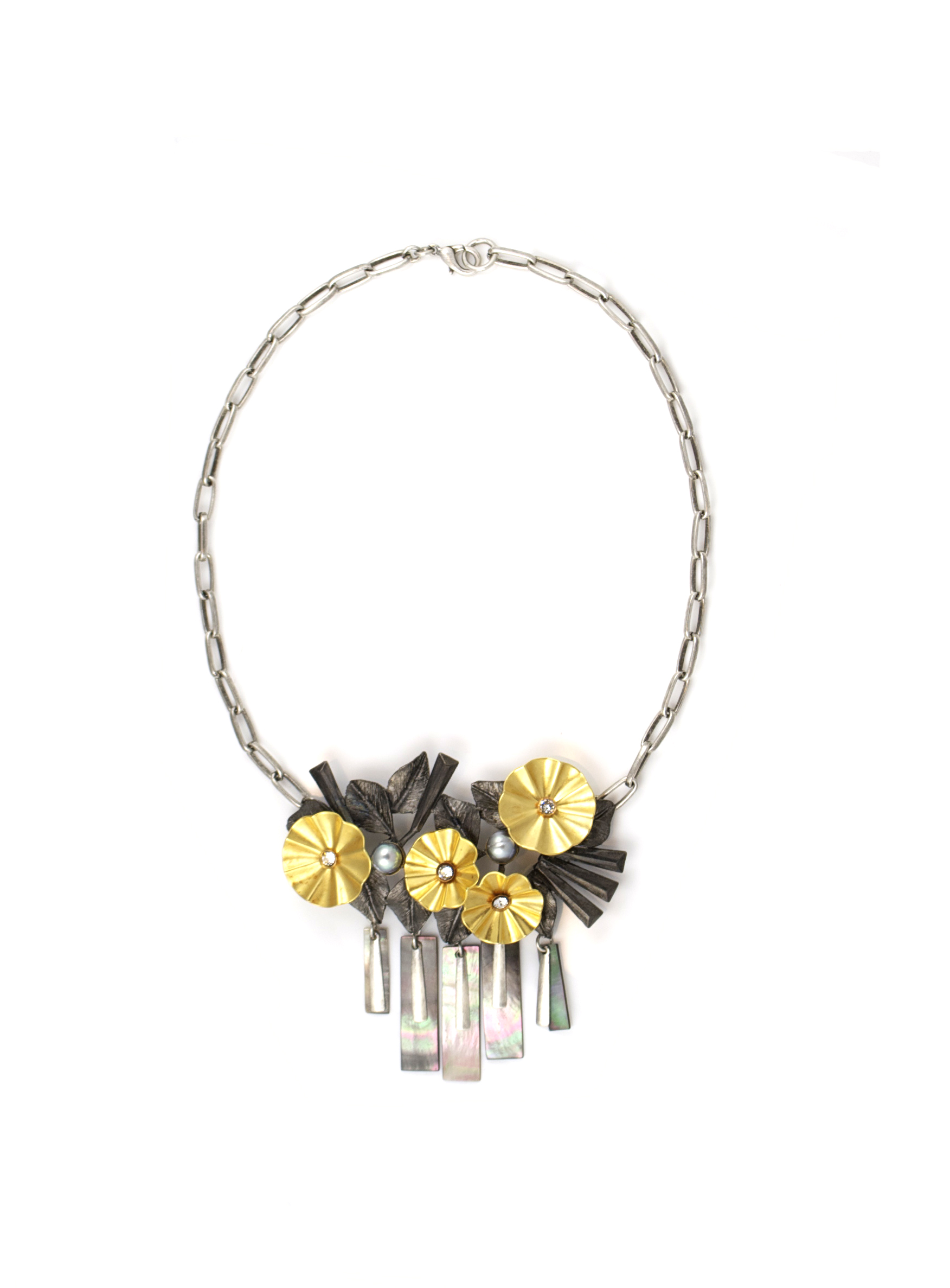 Flower Cloud necklace,  available at Gerard Yosca .
