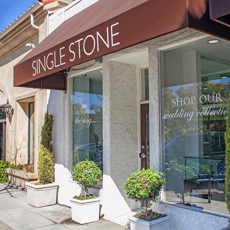 MIssion Street facade of Single Stone San Marino.