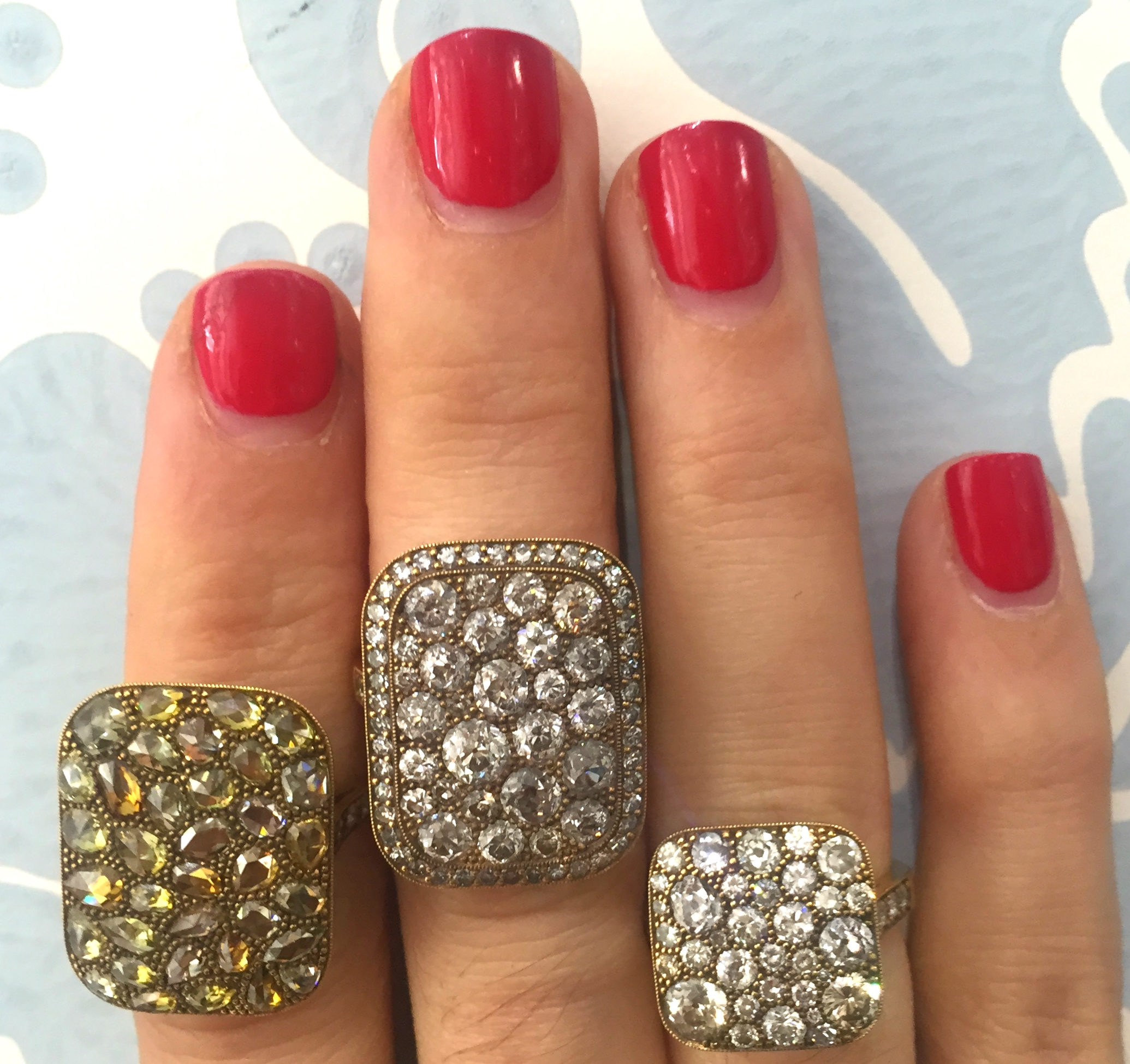 A few more lovelies from the Cobblestone Collection by Single Stone.