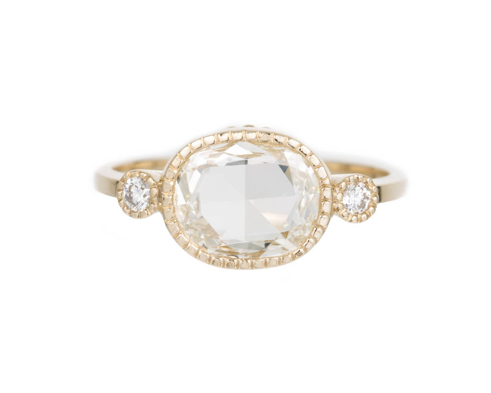 Jennie's Pick: The diamond slice elevate ring