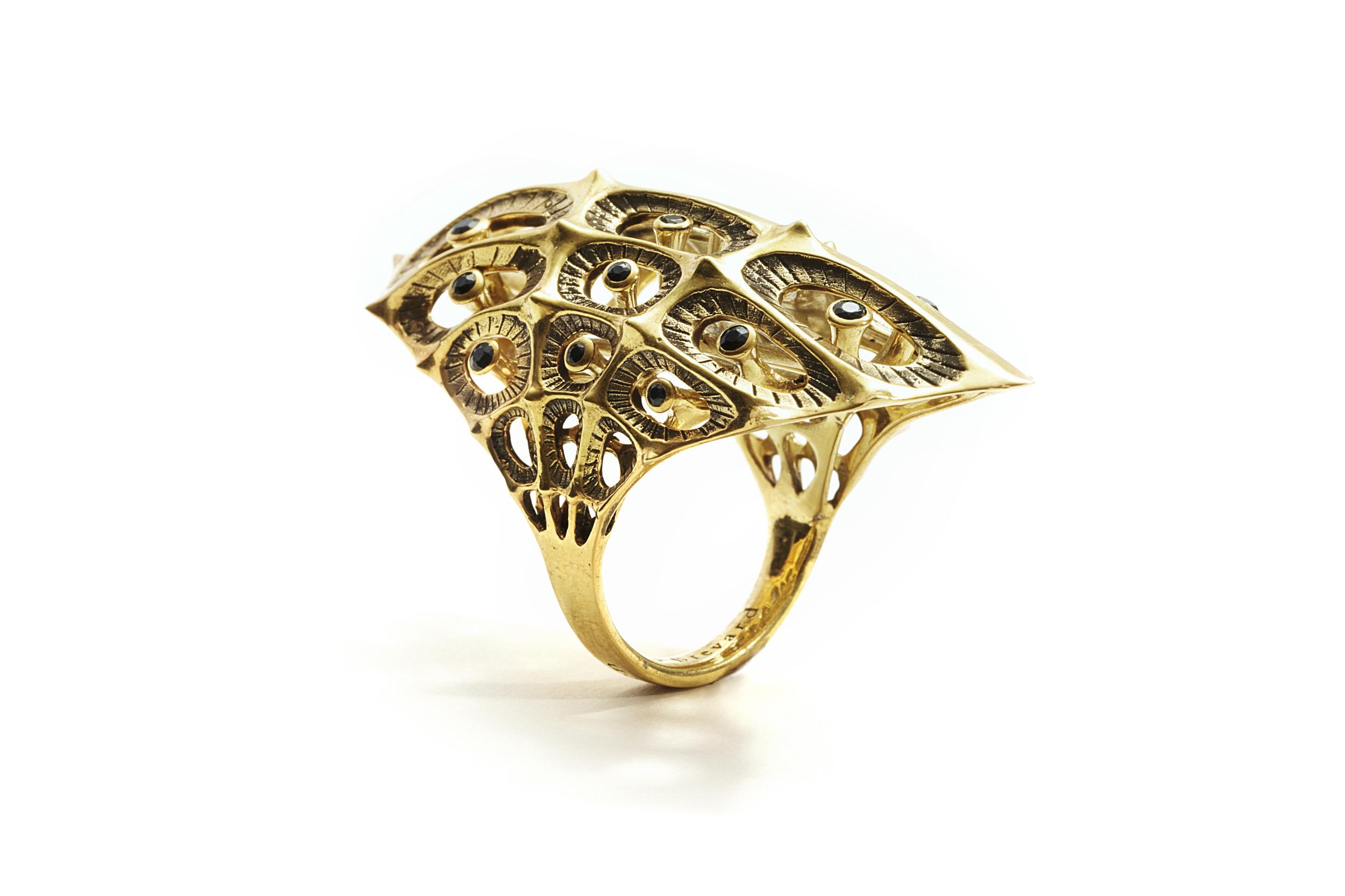 11. Morphogen Ring - Gold with Black Diamonds.jpg
