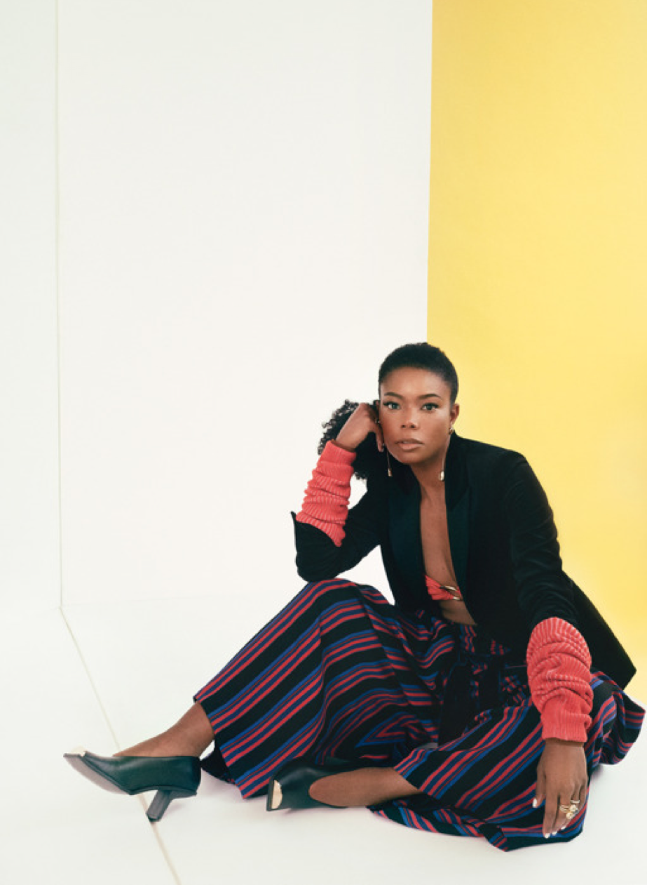 Gabrielle Union in Sarah Hendler - The Cut Oct 2017