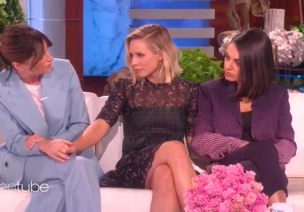 Kristen Bell in Sarah Hendler on Ellen Oct 2017