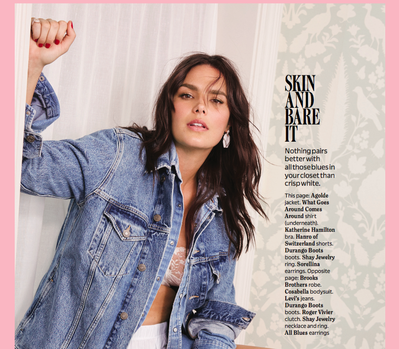 Sorellina in Cosmo August 2018