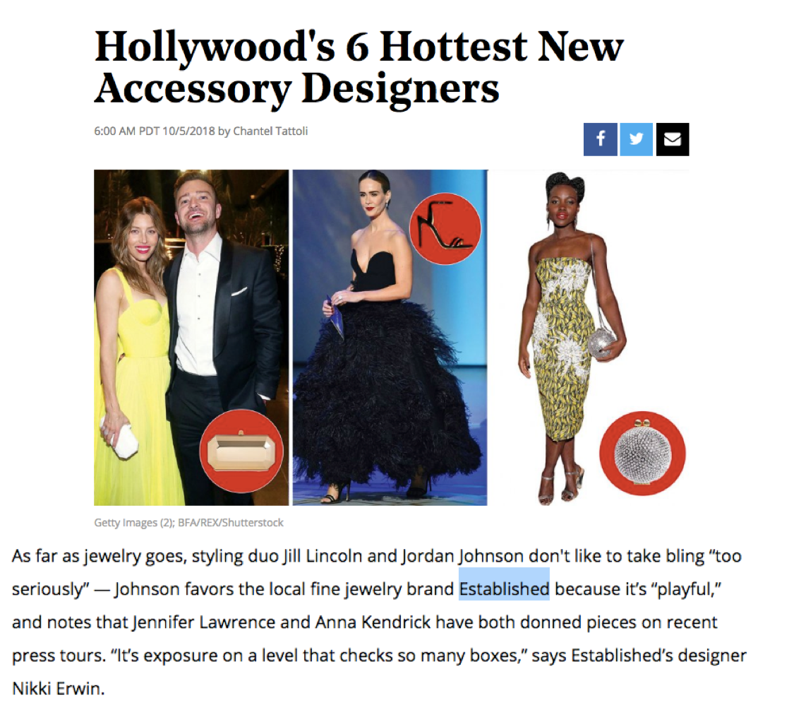 Established on Hollywood Reporter