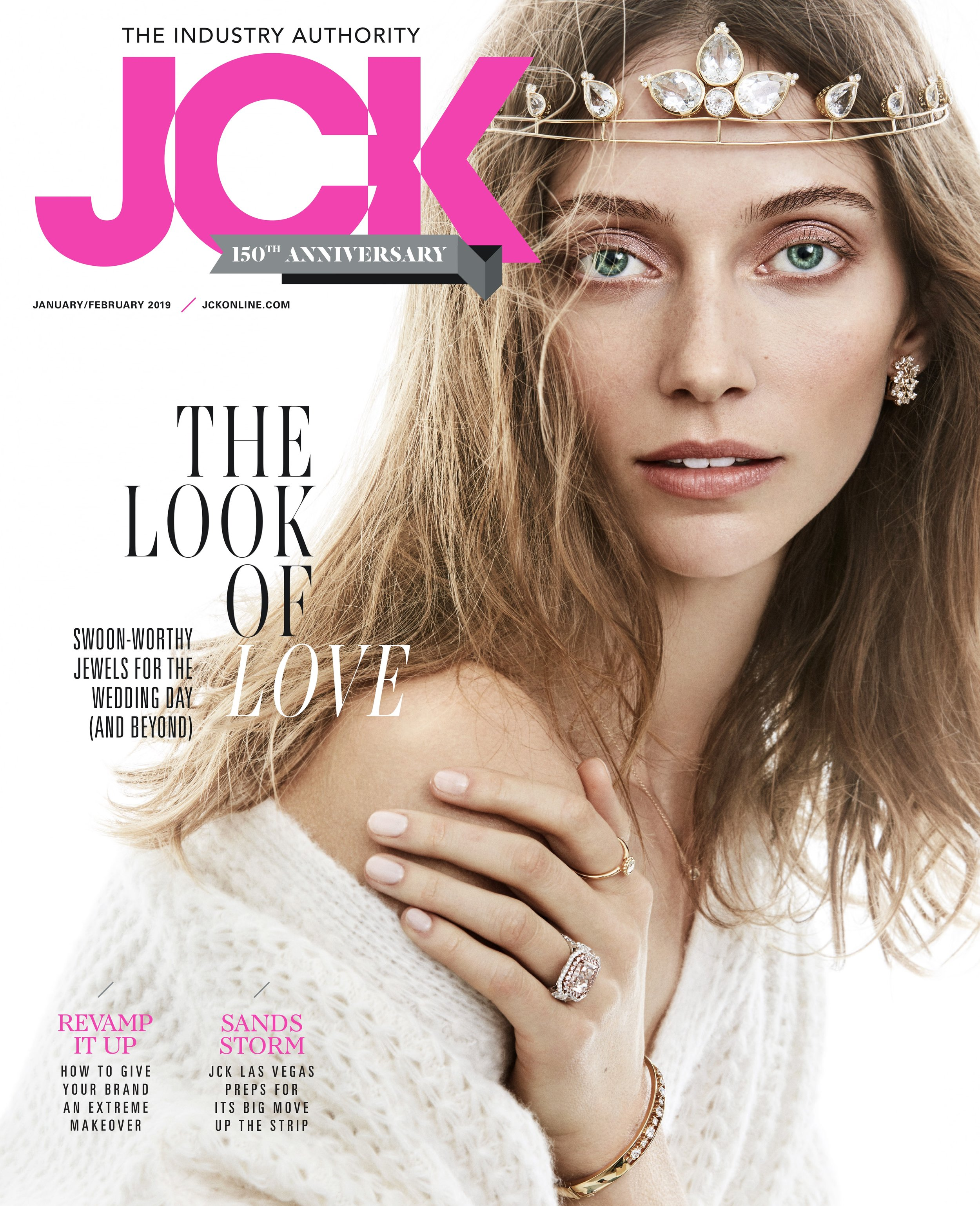 Sorellina on cover of JCK Magazine