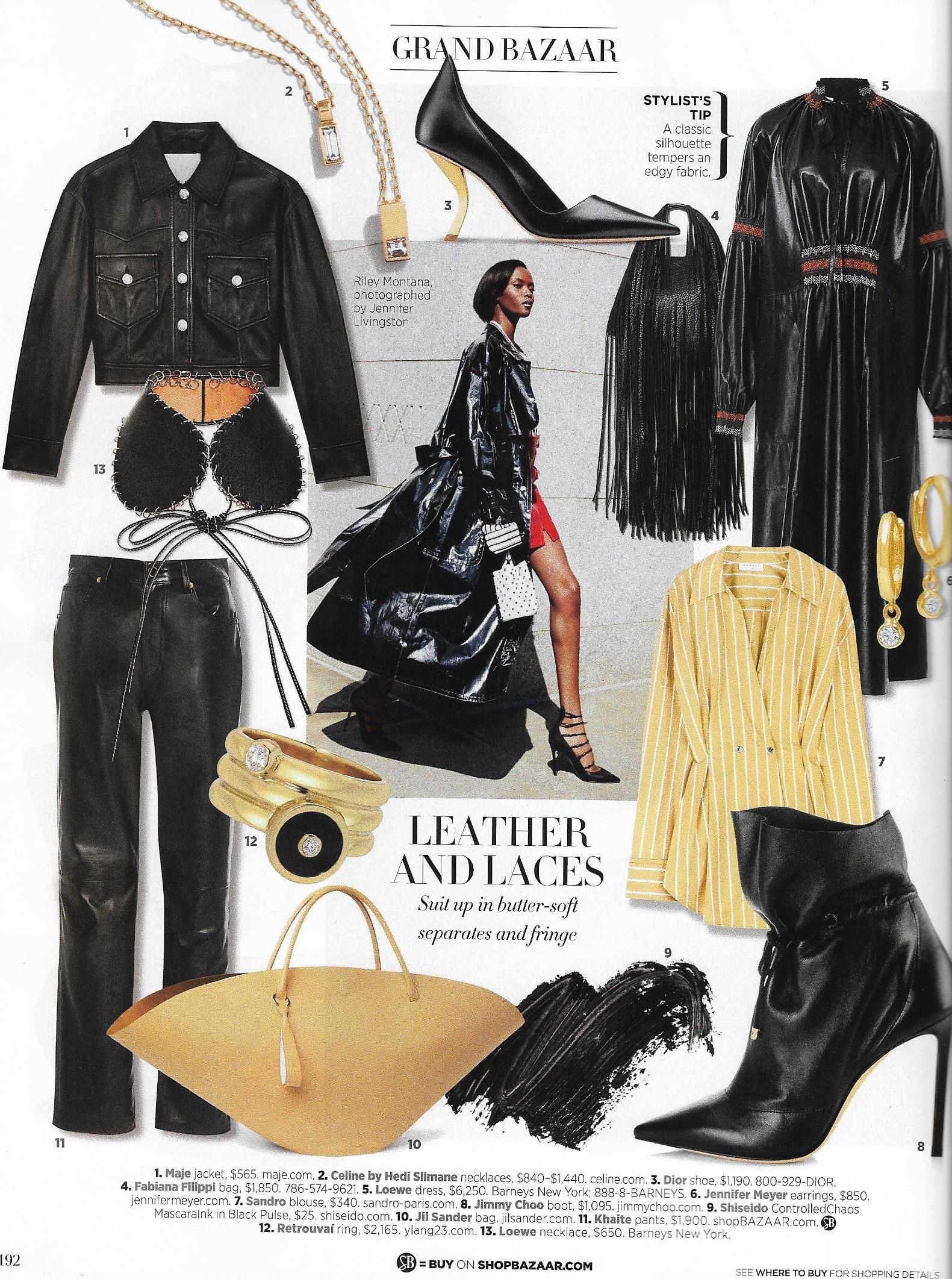 Retrouvaí in Harper's Bazaar