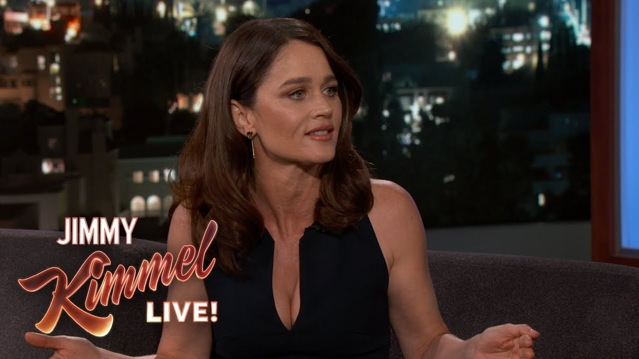 Sarah Hendler on Robin Tunney on Jimmy Kimmel Live