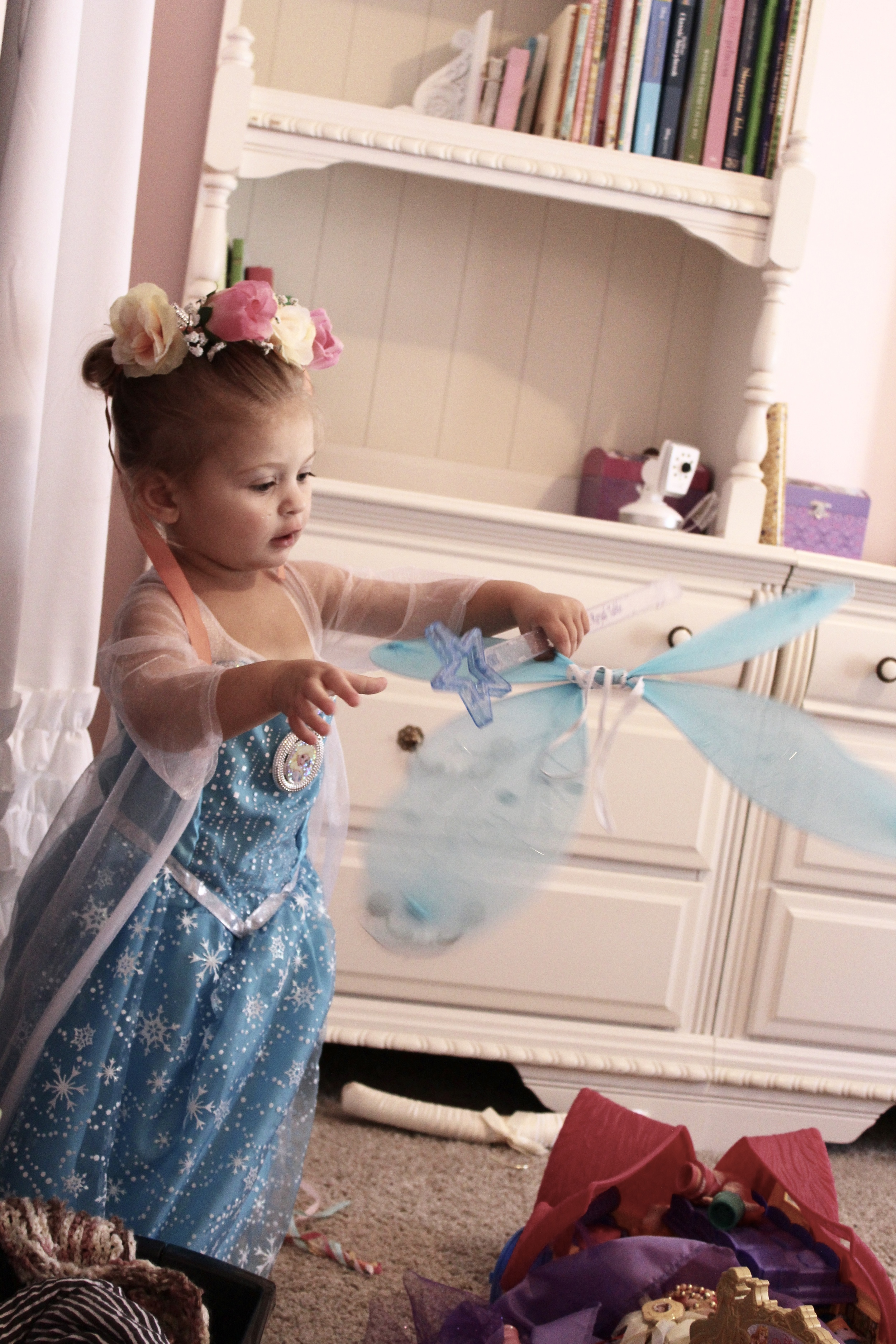 """I want to be a princess!"" is one of the most frequent exclamations heard in our home."