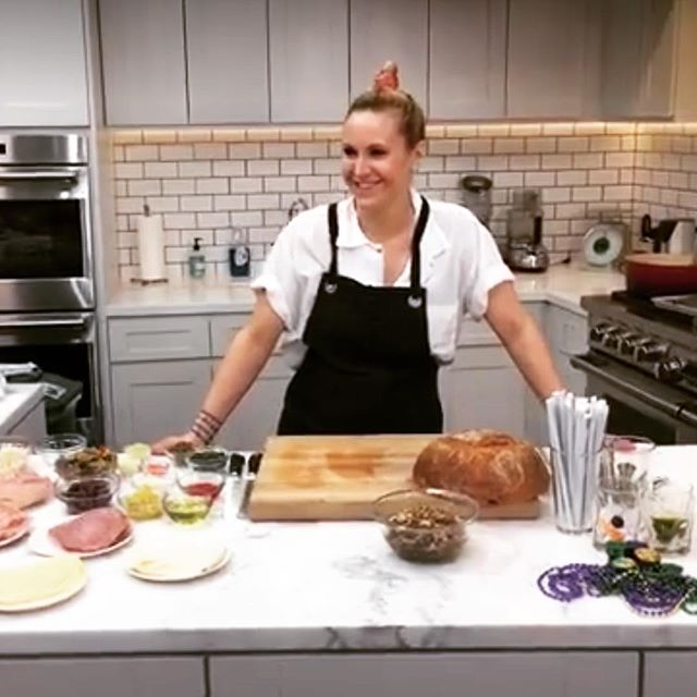 What a great segment this was last year for @foodandwine!!!!! Happy Fat Tuesday!!!! Recipes on foodandwine.com . . . . . #truecooks #chef #chefslife #laissezlesbontempsrouler #mardigras #mardigras2019 #fattuesday #hurricane #muffelatta #neworleans #neworleansfood