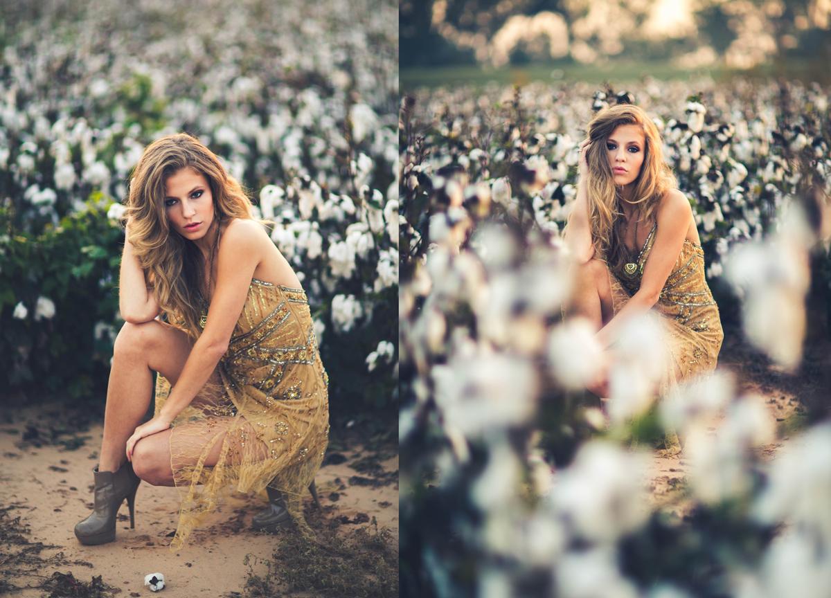 Cotton Fields Louisiana Editorial Fashion By Nyc