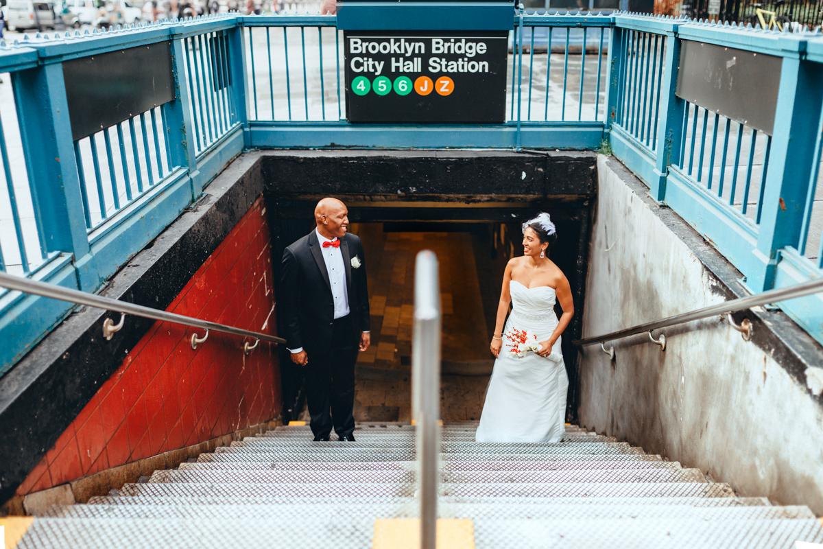 Brooklyn NYC Wedding Photographer Boris Zaretsky Brooklyn Elopement Citi Hall Dumbo Clinton Hill-67.jpg