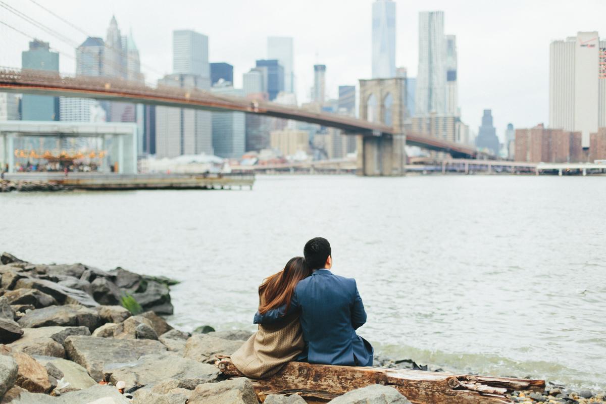 Brooklyn NYC Wedding Photographer Boris Zaretsky Bryant Park Dumbo Engagement-24.jpg