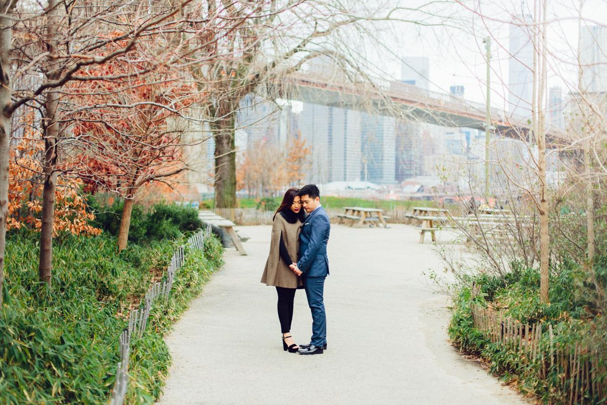 Brooklyn NYC Wedding Photographer Boris Zaretsky Bryant Park Dumbo Engagement-40.jpg