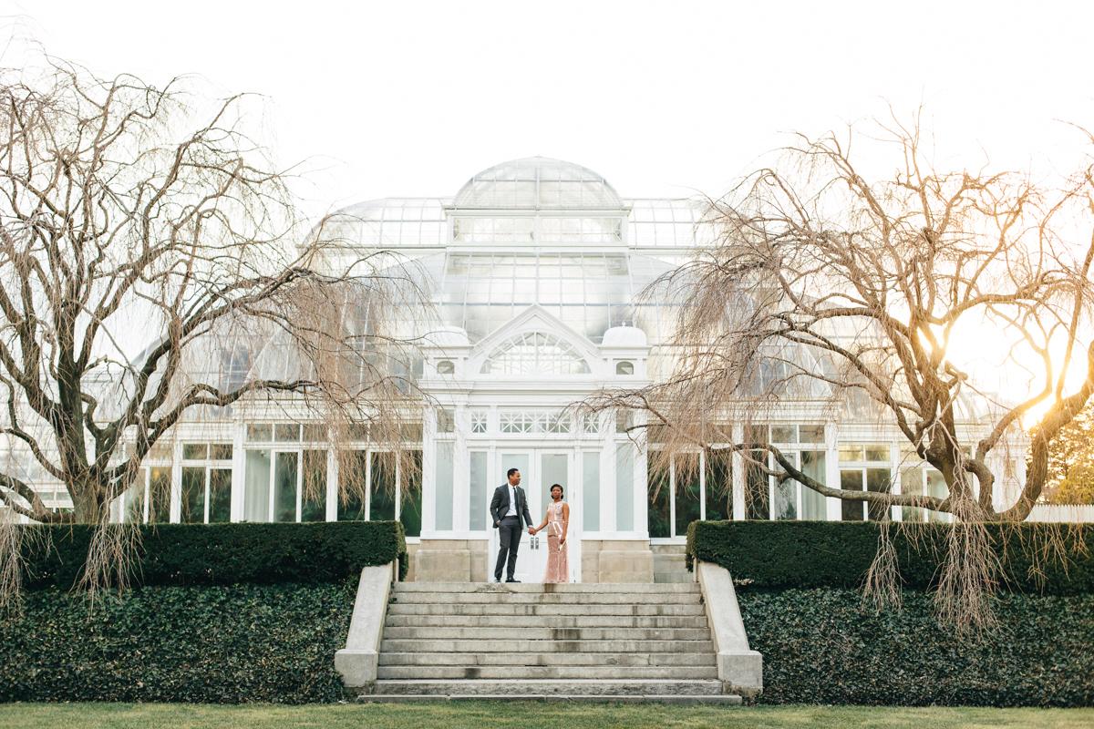 New York City Botanical Gardens Engagement by Wedding Photographer Boris Zaretsky_B2C3823.jpg