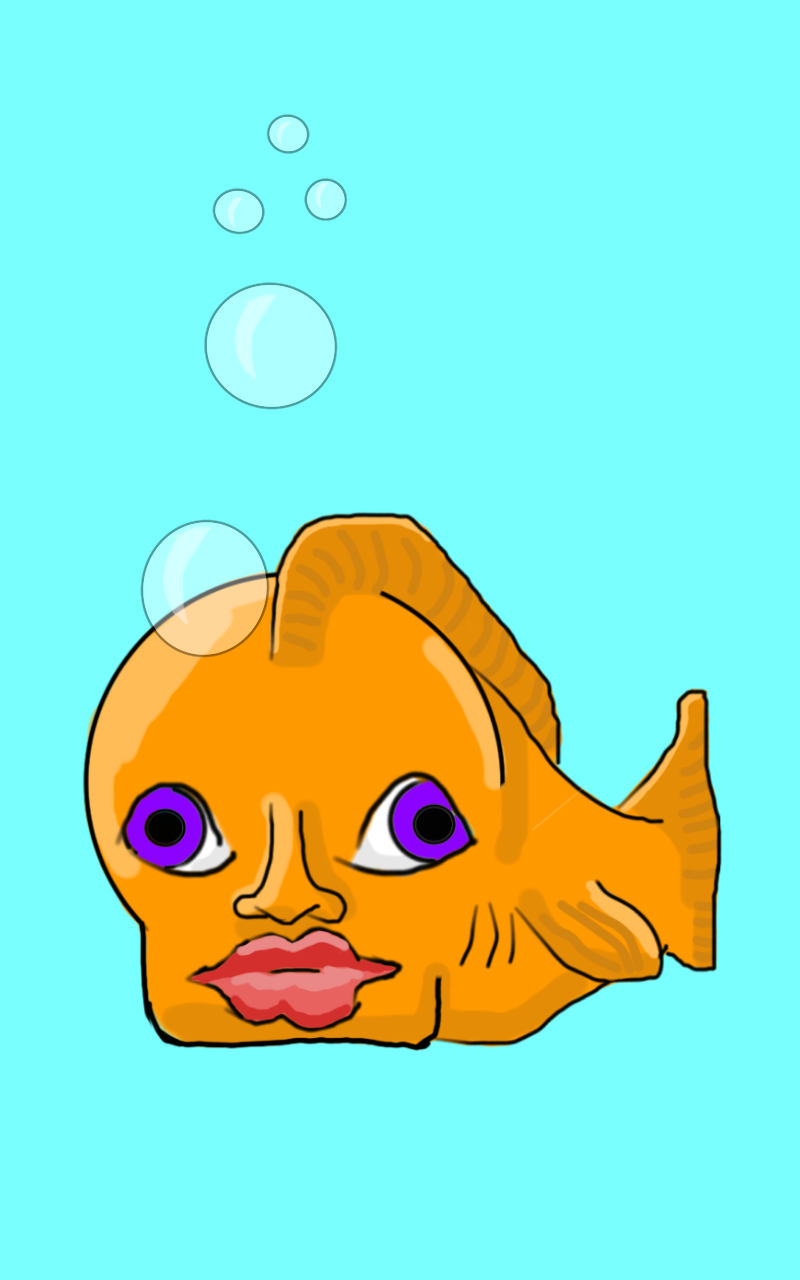 Apoca-fish, Digital (Autodesk app on Kindle Fire)