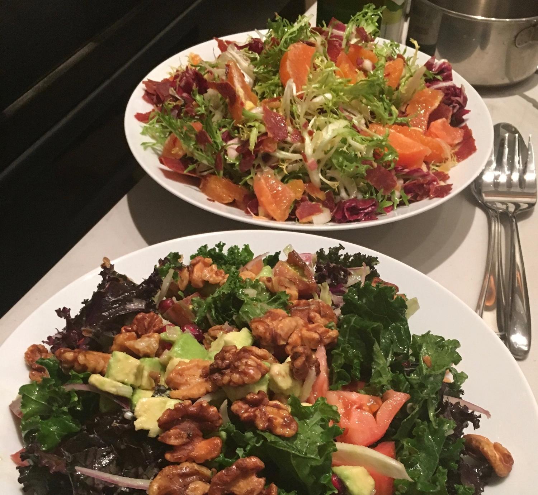 Special Diets Menu, Salads