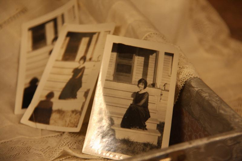Photographs rest in an exhibit at The Exploratorium. (Emi Kolawole)
