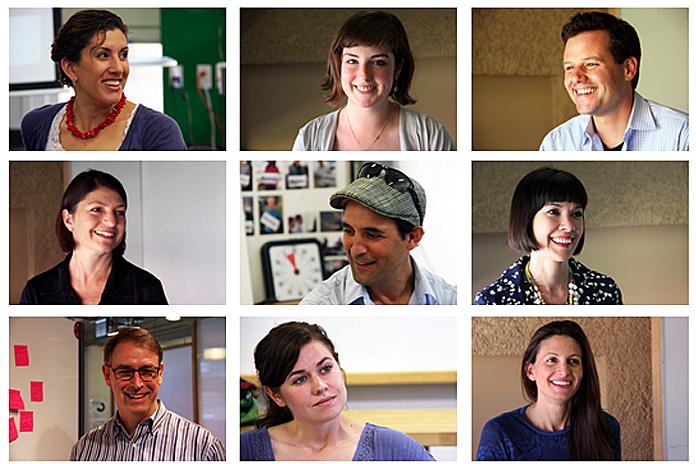 The 2013-2014 d.school project fellows. (Emi Kolawole)