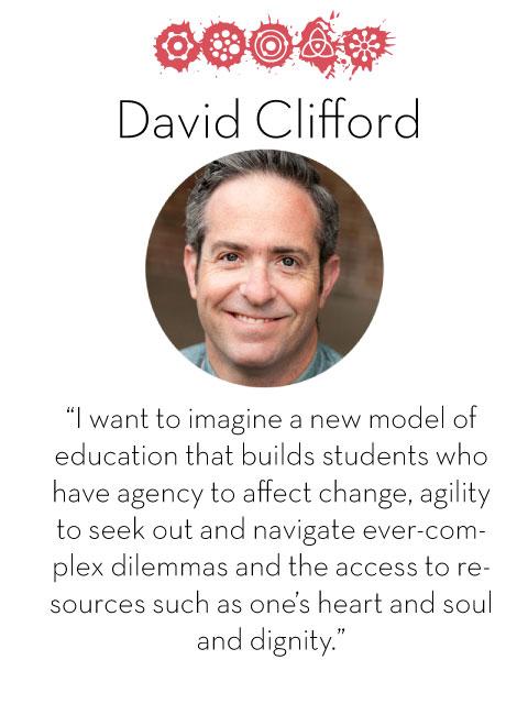David Clifford, d.school fellow 2014-2015