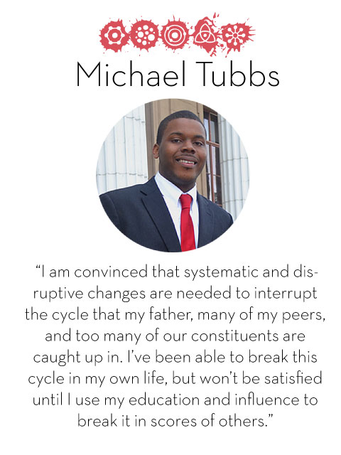 Michael Tubbs, d.school fellow 2014-2015