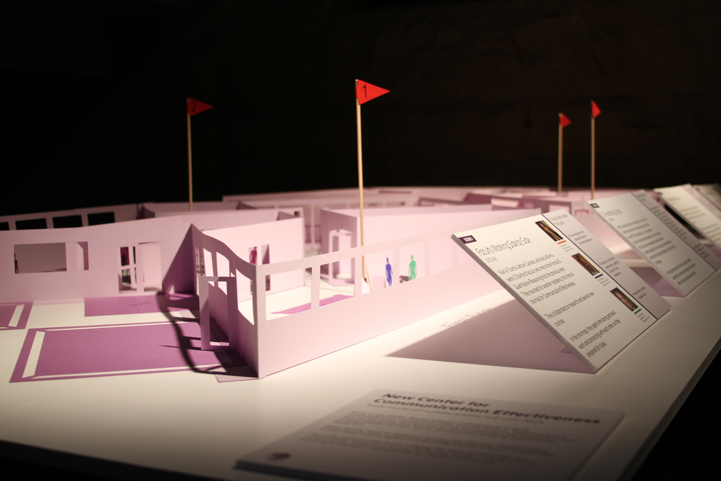 A display from the Stanford 2025 exhibit this past spring. (Emi Kolawole)