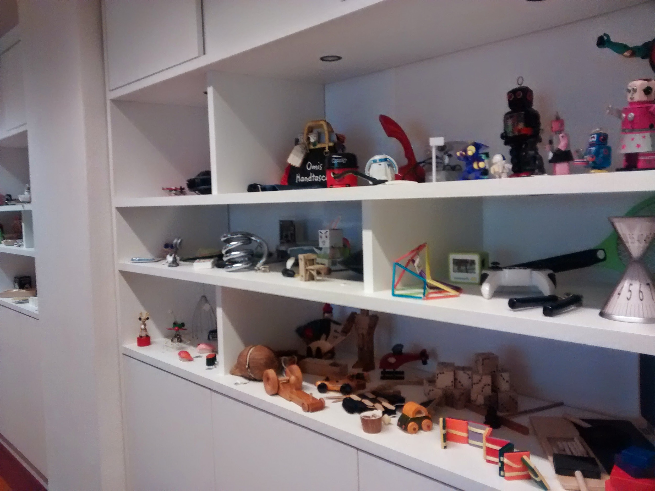 Toys and artifacts at the Creation Center. (Emi Kolawole)