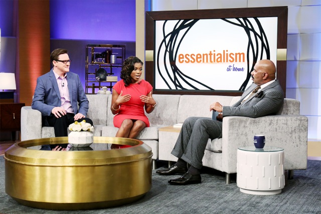 """Greg McKeown, author of """"Essentialism - The Disciplined Pursuit of Less"""" sits down with mom and entrepreneur, Dinai, to help her better balance life. From family and client obligations, Dinai has no time left for self. Greg's book helps Dinai to focus on the essential so she can be her best self for her self, her family, and her clients.     """"The difference between successful people and very successful people is that very successful people say no to almost everything""""- Warren Buffet"""