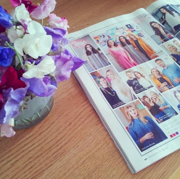 Feature in U Magazine, out and about at the OPSH office party