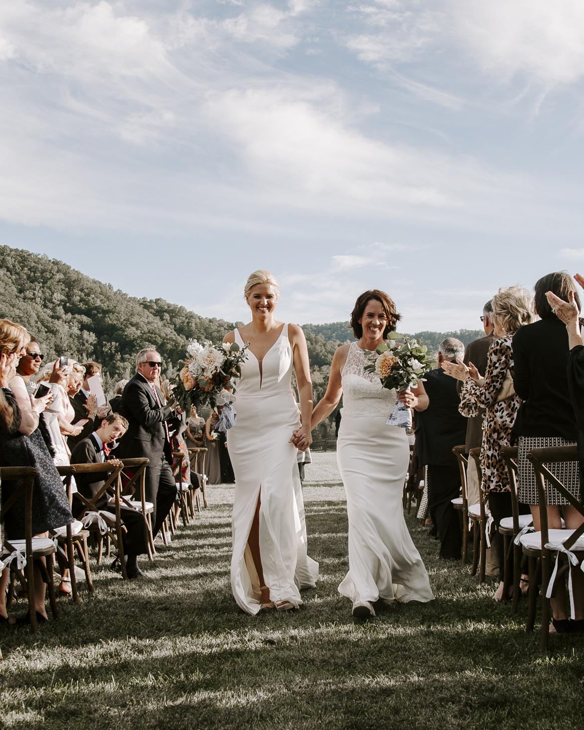 Asheville North Carolina Fall Wedding -