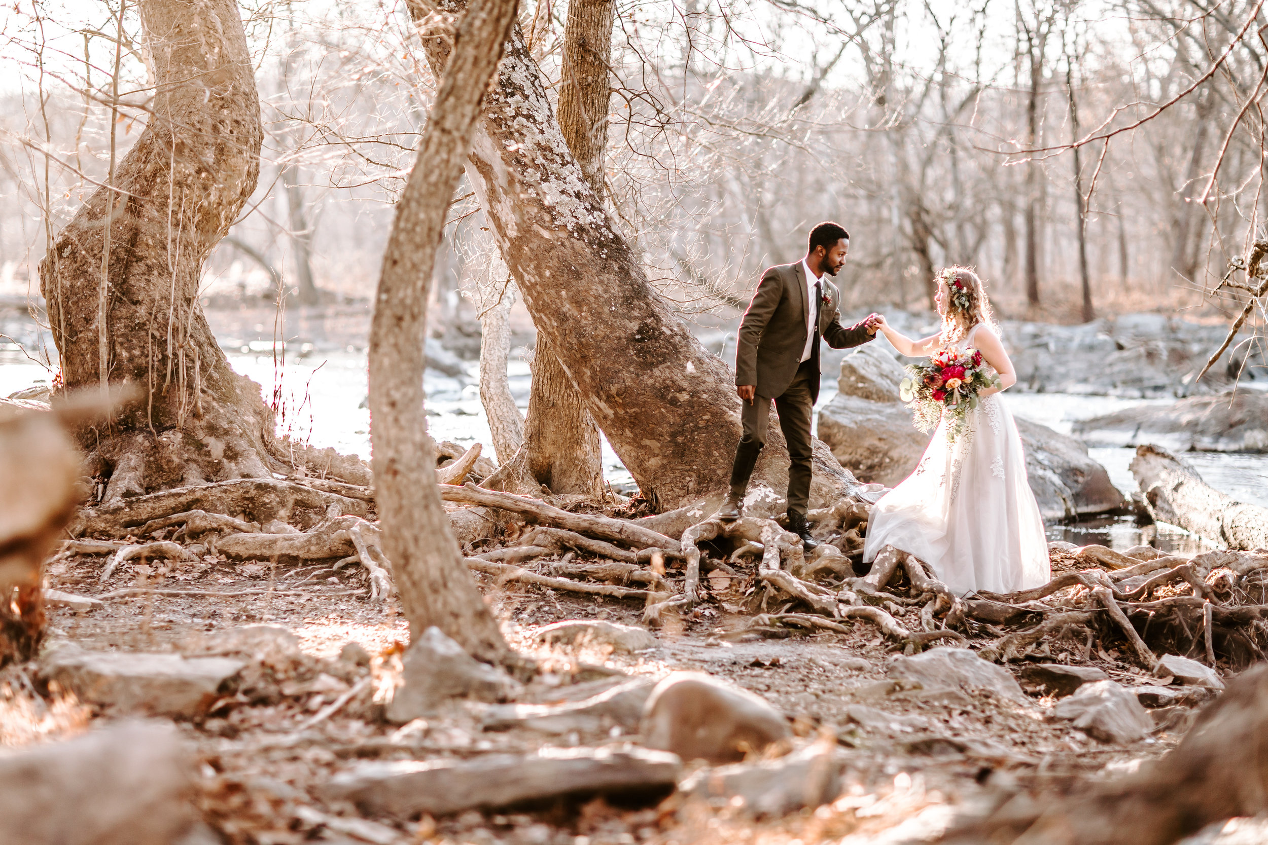 Great Falls Virginia Elopement -