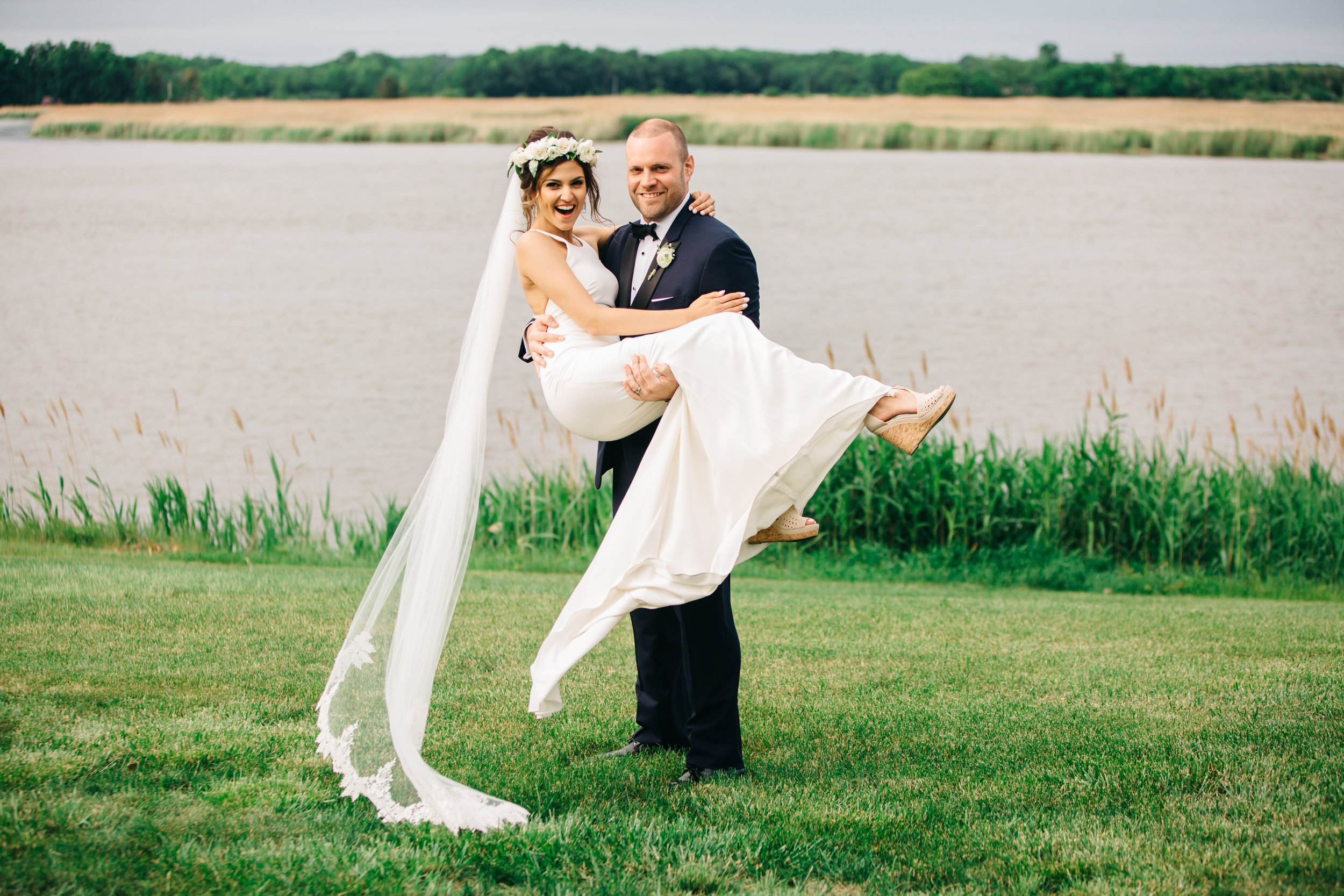 RENEE + JOE - FIVE STARS ALL THE WAY TO THE AISLE. I can say, and my wife would agree, that there is no wedding expense more worthwhile than Caitlin and her team at Clover Event Co. In our case, I believe their all inclusive package probably saved us as much money as we paid out to hire them. They are connected to an incredible network of experienced vendors and venues which makes choosing that much easier.Lastly, and perhaps most importantly, if you're having a difference of opinion with your fiance, there is no better intermediary than having Caitlin assist. We recommend Clover any time we hear of anyone getting engaged. A complete wedding gamechanger.