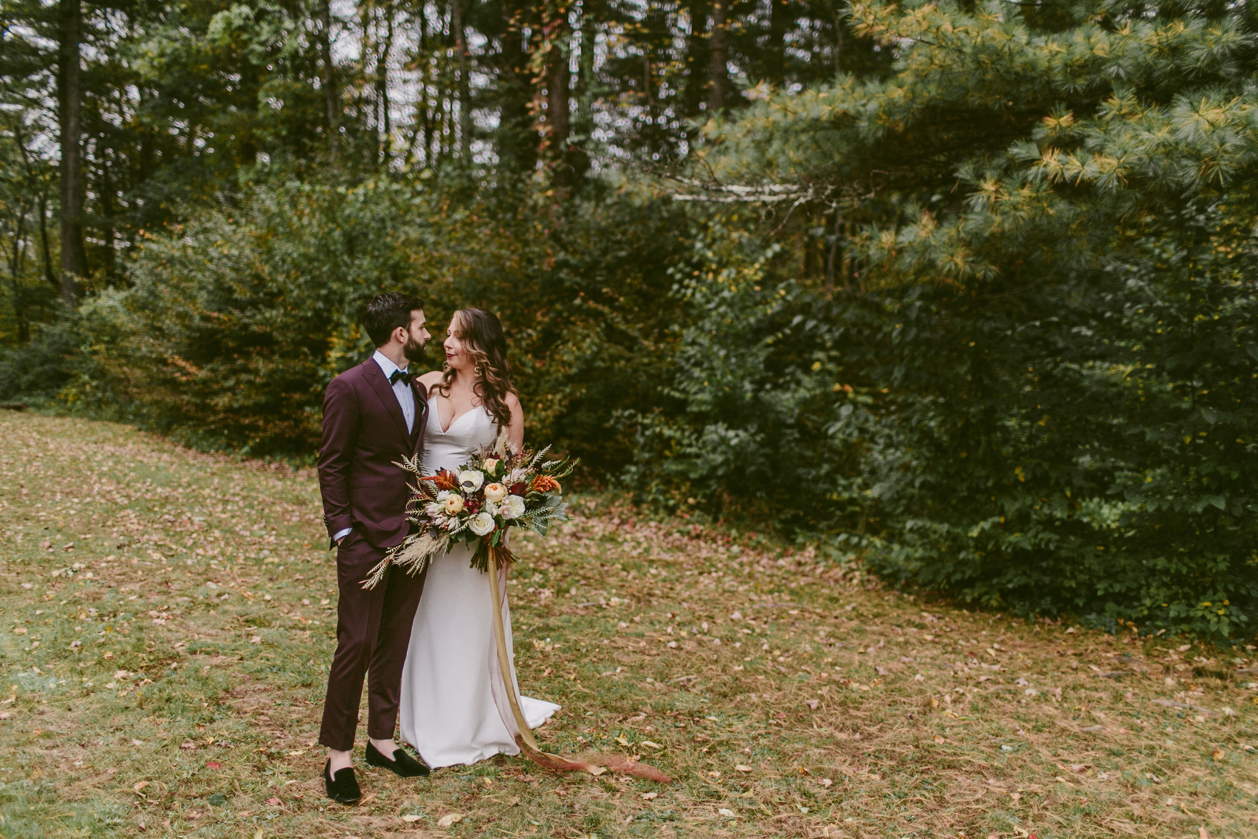 sarah + sean - As a wedding photographer, I have had a backstage view of wedding days for hundreds of couples, and know how essential a good day-of coordinator is to helping the couple actually enjoy their day. I've also had the advantage of seeing how the many local planners operate, and I knew without a doubt, Clover is the BEST.Jesse traveled to the Catskills and turned out to be such a perfect fit for our crew; her energy helped me stay calm and grounded when things started to get hectic. She managed the entire timeline, all of our vendors, and all of the logistics with such aplomb, that I barely noticed a thing as I glided through my day.Jesse made sure I was able to immerse myself in the magic of the day and be fully present for everyone and without a care in the world. If there were any bumps in the road, I still am not aware of them, because Jesse so beautifully protected me from it all.Please, if you are considering a planner, don't learn things the hard way: this team is exactly what you need if you want the wedding experience of your dreams!