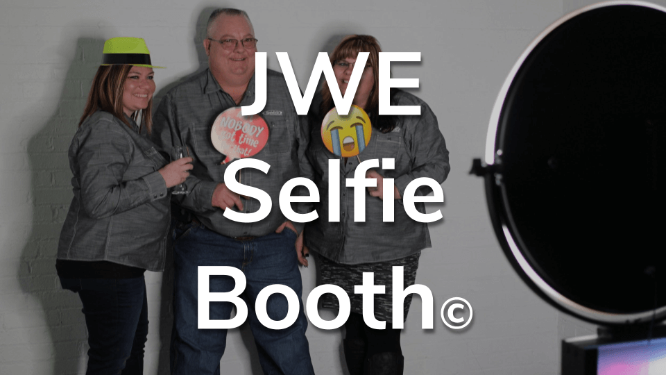 Pricing Starts at $450 - Included…- Local travel within 50 miles of the Jared Wade Entertainment office- 2 pre-event planning meetings online or at JWE office, unlimited email/phone/text correspondence - Up to a 3 hour event of service- 1 Custom Designed photo grid for 3 to 4 photos.- Option for Photos/Gif/Boomerang - Add on option for Video Recording with a wireless mic (additional cost)- Additional fees could be included, but you would be aware of them, and they would be included in the contract before it is signed.**