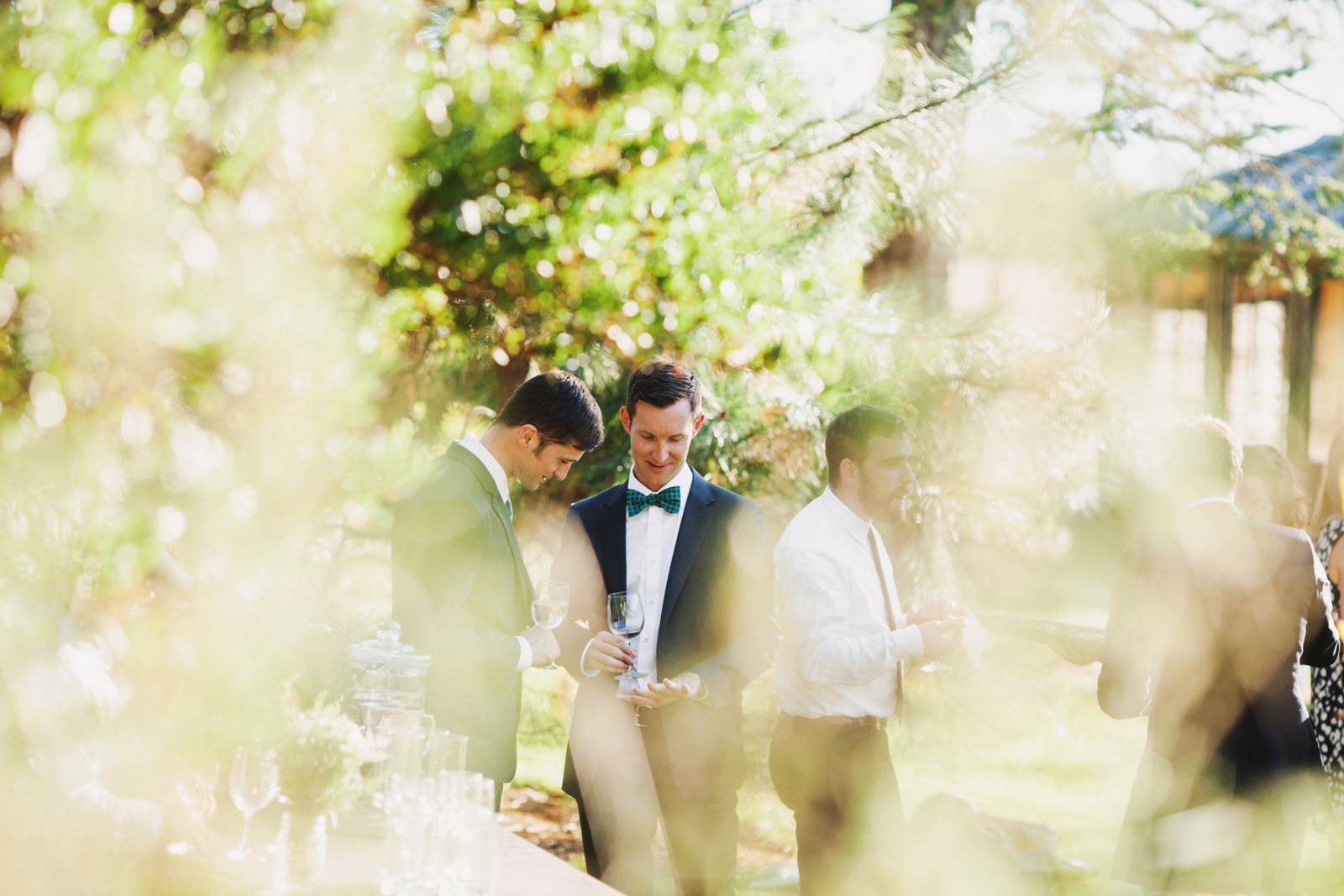 Intimate same-sex Island wedding  |  www.justloveweddings.ca
