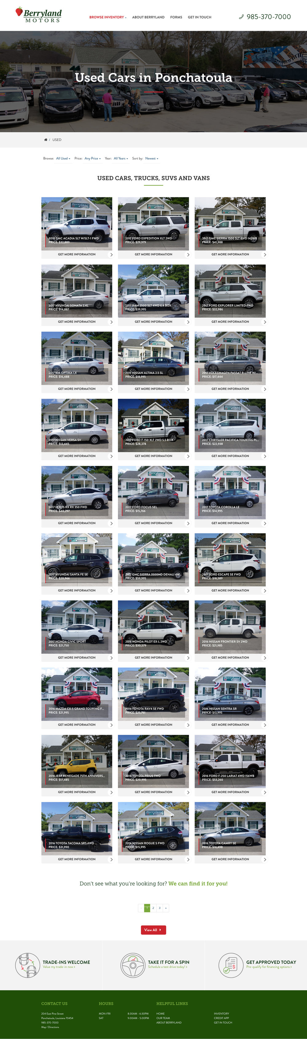 The Best Berryland Motors