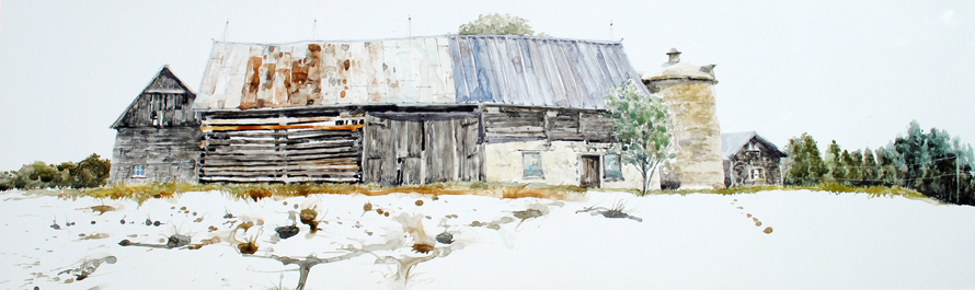 Barns 57 and meadow