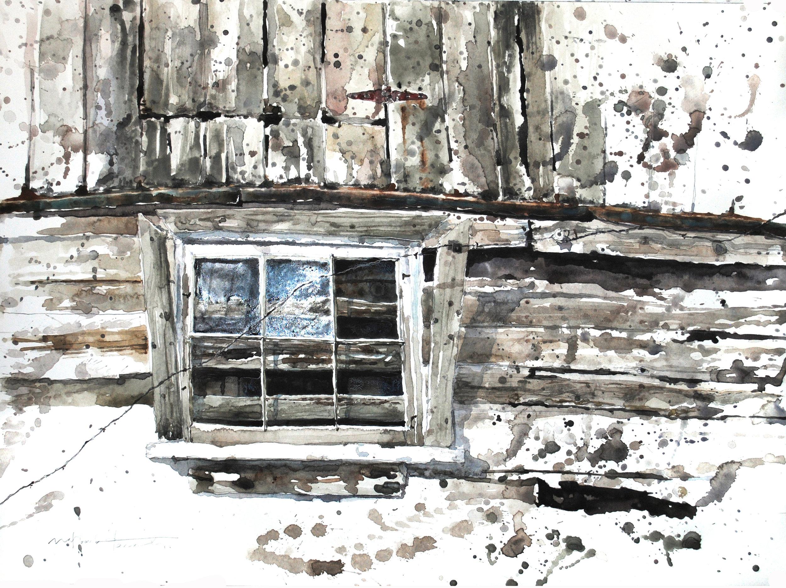 Barn Window, Hancreek Holsteins