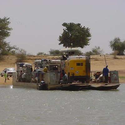 March 3, 2001 Ferry To Djenne - Djenne, Mali