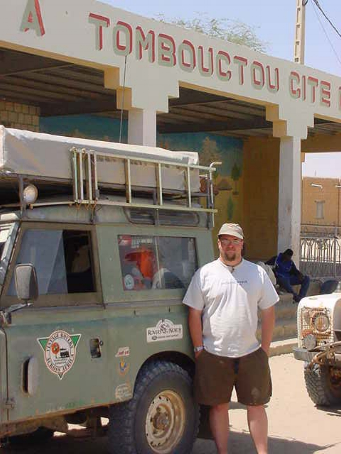 Paul Shumway & our Vintage Land Rover Series 2A