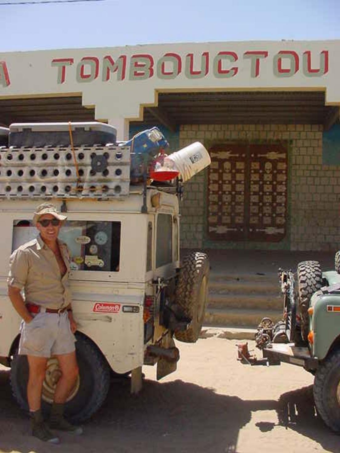 Al Cornell & his vintage Series Land Rover