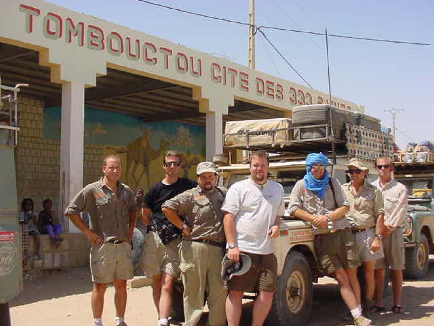 The Vintage Rovers Across Africa Expedition Team