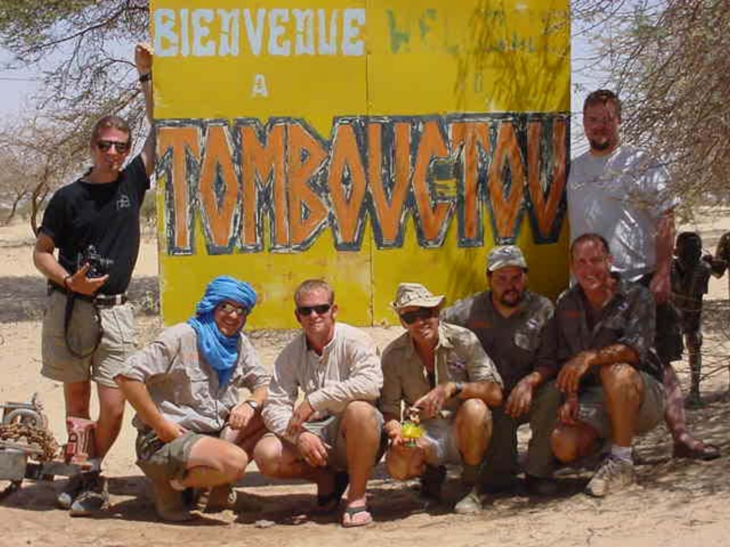 The VRAA expedition team