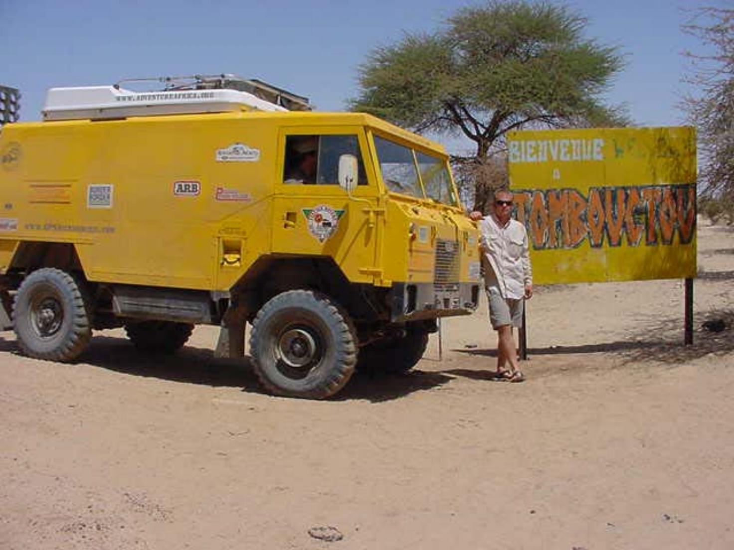 Shane Ballensky in Timbuktu Mali