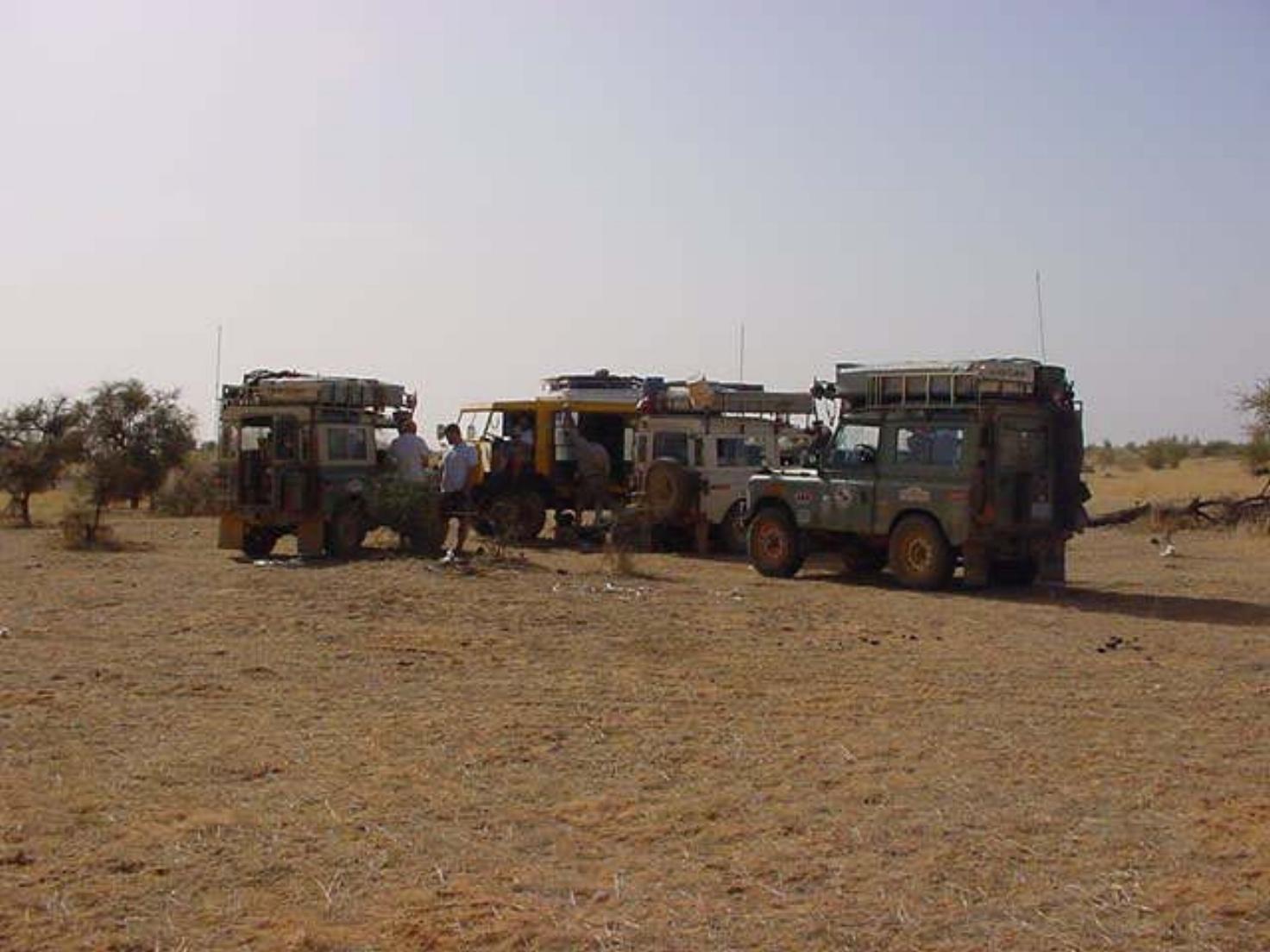 Sahara Desert camping